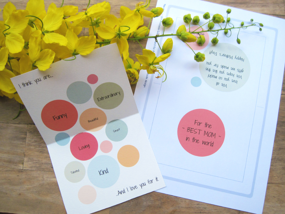 You are… Customizable, printable greeting card
