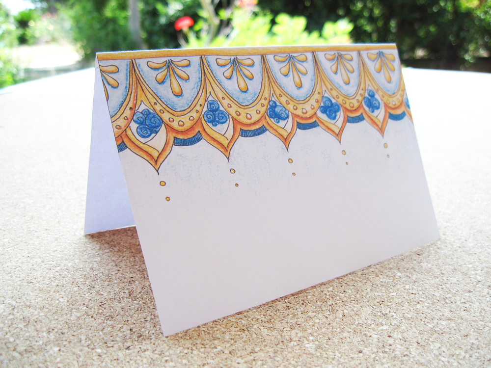 Oriental Delight - Card