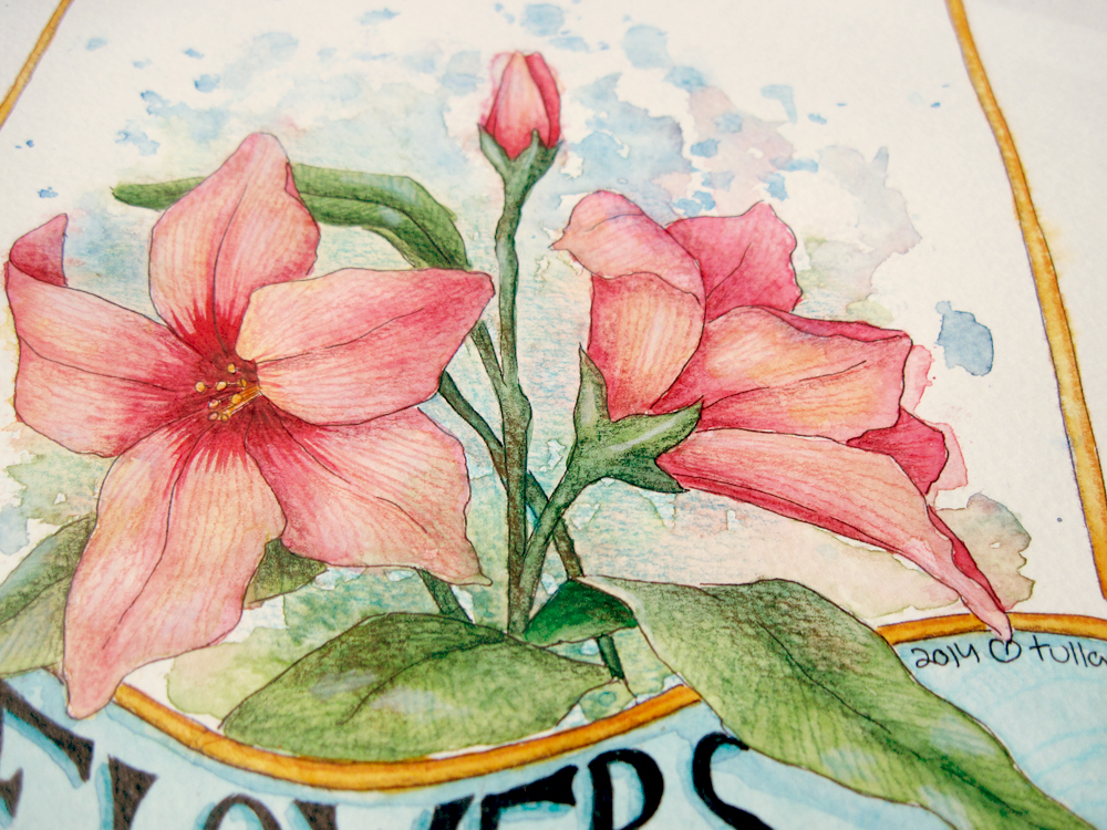 Creative Process: Flowers Make Me Happy