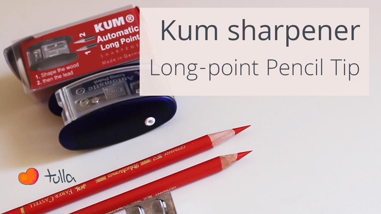 Recommendation: Kum Long-point pencil sharpener