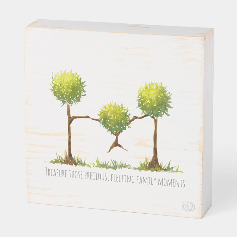Wood box: Flying (Scribble trees collection)