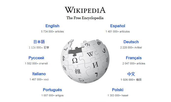 Bite-size tip: Wikipedia as home page
