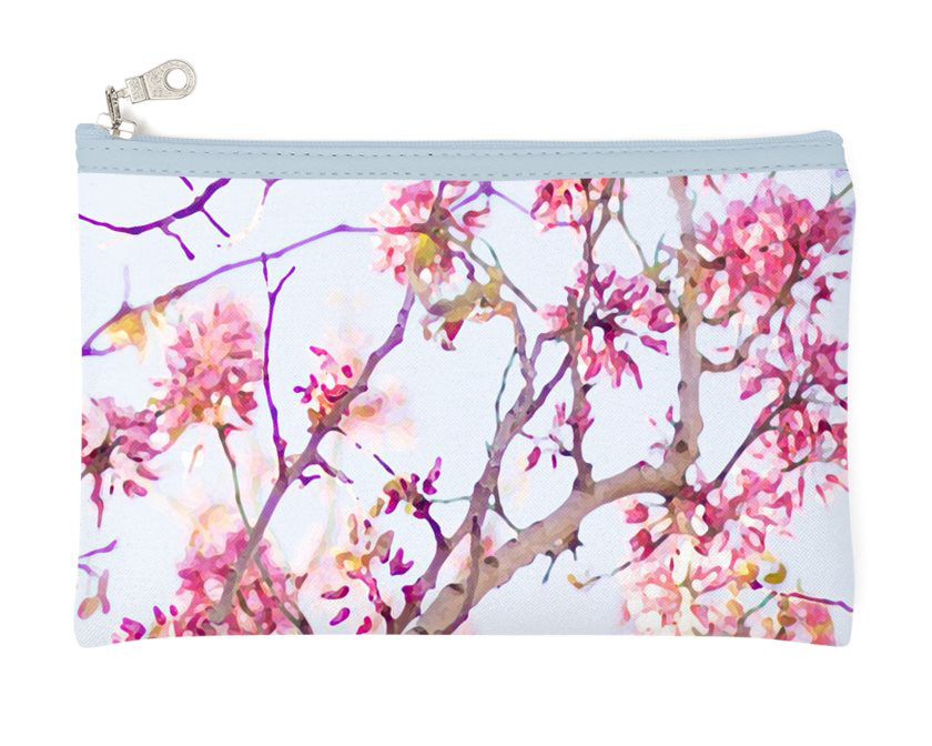 Pencil case: Pink blossom in the sunshine